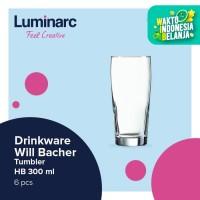 Luminarc Drinkware Willi Becher - Tumbler 330 ml H/B - 12pcs