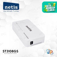 Netis ST3108GS 8-Port Gigabit Ethernet Network Switch internet Hub