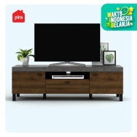 Bavarian Meja / Rak TV Brown Walnut - Stone (BENEDICT TV150)