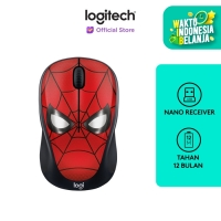 Logitech M238 Marvel Collection Wireless Mouse - SPIDERMAN