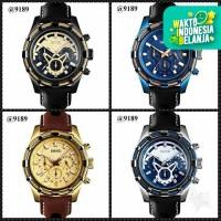 Jam Tangan Pria Original SKMEI Watch 9189 Chronograph Anti Air 30M