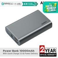 Powerbank Aukey PB-XD12 Grey 10000 mAh QC3.0 & Power Delivery - 500462