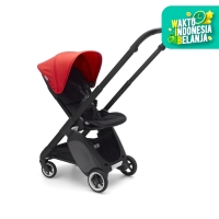 Bugaboo Complete Stroller Ant Black/Neon Red