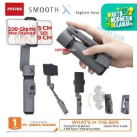 Gimbal Zhiyun Smooth X Smarthphone Stabilizer 2 axis steadycam
