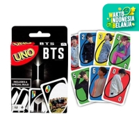 UNO254 BTS UNO Cart Game by MATTEL Games / Kartu UNO BTS