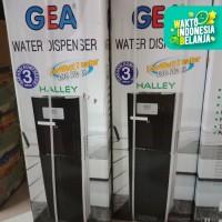 Dispenser GEA Halley galon bawah khusus Gojek/Grab