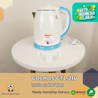 Cosmos CTL 210 Electric Kettle 1.2 Liter Putih Biru