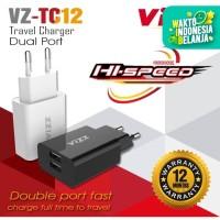 Charger VZ-TC12 Travel Charger VIZZ Dual Port