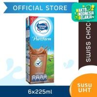 Frisian Flag Purefarm UHT Swiss Chocolate 225ml [6 pcs]