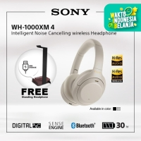 SONY WH-1000XM4 Silver Wireless NC Headphone / 1000XM4 / 1000X