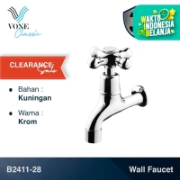 VONE CLASSIC B2411-28 Keran Kran Air Tembok Baling Kuningan Chrome