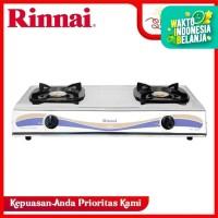 Rinnai Kompor Gas 2 Tungku Stainless RI-522E