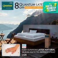 Quantum Latex Topper 8 cm Mattress / Kasur Springbed / Spring Bed - 90 x 200
