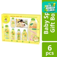 Zwitsal Baby Natural Set Spa Gift Box Kado Bayi 1Pc