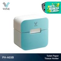 VONE PH-A03B Biru Tempat Tisu Tissue Gantung Holder Handphone ABS