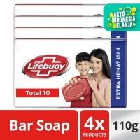 Lifebuoy Sabun Batang Total 10 Isi 4X110G