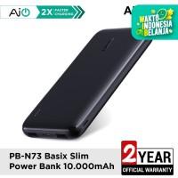 Aukey Powerbank PB-N73 Basic Slim 10000mAh - 500489