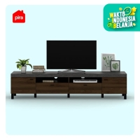 Bavarian Meja / Rak TV Brown Walnut - Stone (BENEDICT TV210)