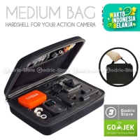 Action Cam Medium Size Bag/Tas/Case for SJCAM SJ4000 & GOPRO HERO 3+/3