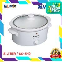 Miyako slow cooker 5liter sc510/ pemasak lambat