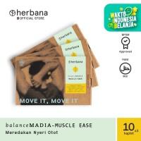 Herbana Balance Madia Muscle Ease - 10 Kaplet (Bundling 3pc)