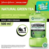 LISTERINE® Green Tea Mouthwash / Obat Kumur 500ml