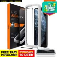 Tempered Glass iPhone 11 / Pro / Pro Max Spigen AlignMaster Full Cover