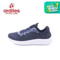 Ardiles Men Star Road Sepatu Running - Biru Navy Putih