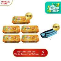 Buy 4 Get 1 Good Time Vita Go Banana + tas olahraga