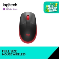 Logitech Wireless Mouse M190 - Red