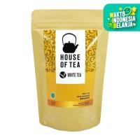 House Of Tea - White Tea Kemasan Pouch 50gr