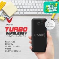 VYATTA TURBO FAST WIRELESS Power Bank - 10W Wireless , QC3.0 & PD - Black