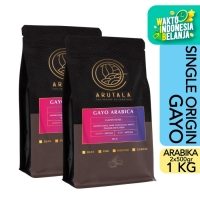 ARUTALA Kopi Gayo Takengon Arabika Arabica Coffee 1KG