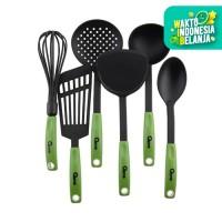 Oxone - OX 953 Kitchen Tools 6 Pcs Hijau