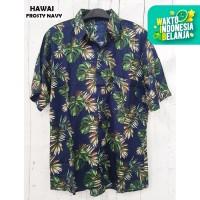 FortKlass HAWAI FROSTYKemeja Hawai Bali Pria Motif Kemeja Pantai Cowok