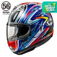 Arai RX7X Nakano Red Helm Full Face - Arai SNI
