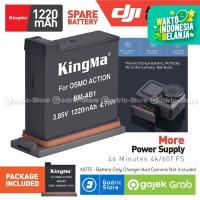 KINGMA Baterai Replacement Battery for DJI OSMO ACTION CAMERA