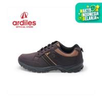 Ardiles Men Calamity Sepatu Running - Hitam Coklat