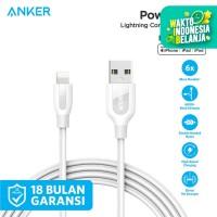Kabel Charger Anker PowerLine+ 6ft/1.8m Lightning Gray - A8122