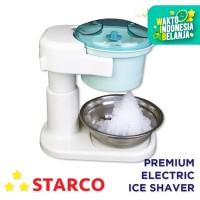 Starco Premium Electric Ice Shaver / Alat serut es