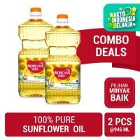 Twin Pack: Tropicana Slim Sunflower Oil 946ml (Botol)