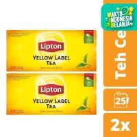 Lipton Yellow Label 25 Teh Celup Twinpack