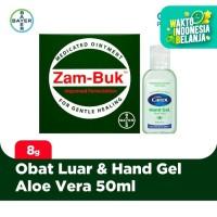 Zambuk Obat Luar 8 gr & Carex Hand Gel Aloe Vera 50ml