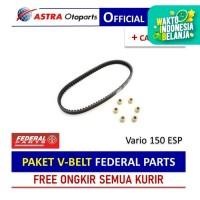 PAKET V-BELT Federal Parts untuk Vario 150 ESP