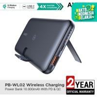Aukey Powerbank PB-WL02 Wireless Charging 10000mAh with PD&QC- 500491