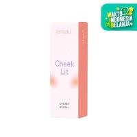 Emina Cheek Lit Cream Blush Peach 10 ml