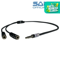 Audio Splitter 2-1 Mic Audio