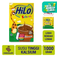 HiLo School Chocolate 1000gr FREE HiLo School Candy (10 Sch)