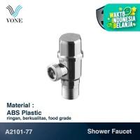 VONE A2101-77 Keran Stop Kran Shower Mini Single Dinding Tembok ABS