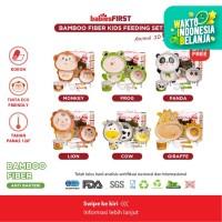 Babiesfirst Bamboo Feeding Set / Tempat Makan Anak / Set Alat Makan
